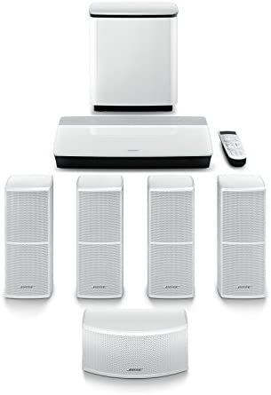 Bose Life-style 600 Dwelling Leisure System, works with Alexa – White