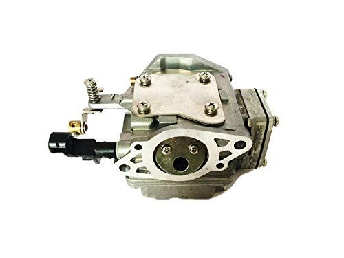 Boat Engine outboard motor Carburetor Carb Assy 63V-14301-00 63V-14301-10 fit Yamaha Parsun Hidea Outboard 9.9HP 15HP 2 stroke ()
