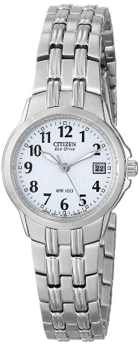Citizen Women's EW1540-54A Eco-Drive Silhouette Sport Stainless Steel Watch