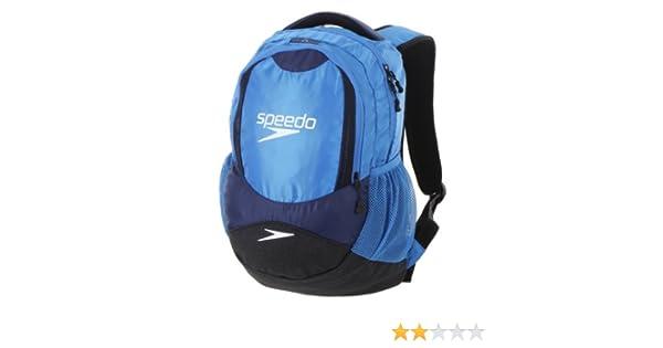 Speedo - Mochila para piscina, color azul neón y azul marino: Amazon.es: Deportes y aire libre