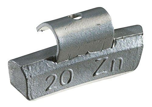 KS Tools 100.2005 - Contrapeso con gancho para llantas (aluminio, 5 g, 100 piezas)