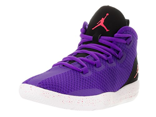 Nike Mujer Ember black white Morado Para Jordan Reveal Zapatillas fierce Purple Baloncesto Gg Glow De wwU0q