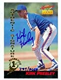 Autograph Warehouse 83182 Kirk Presley Autographed Baseball Card New York Mets 1994 Signature Rookies No .45