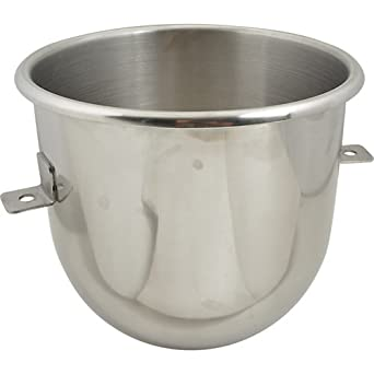 12 Quart Stainless Steel Bowl For Univex Planetary Mixer -- 1 Each.