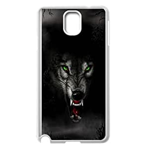 Wolf Face Samsung Galaxy Note 3 Cell Phone Case White Phone cover SE8590833