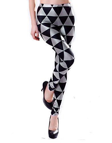 HDE Women's Print Leggings Stretch Fashion Pants- Multiple Fun Prints & Patterns