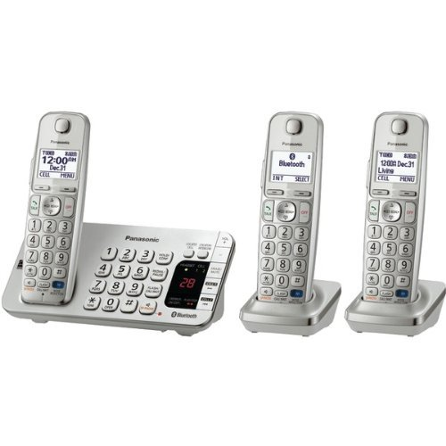 PANASONIC KX-TGE273S Link-to-Cell Bluetooth(R) Cellular Convergence Solution (3-Handset System) (Convergence Bluetooth Solution Cell)