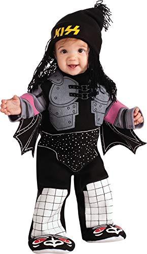 Kiss The Demon Ez-On Romper Costume, Black, Infant]()
