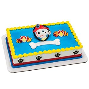 Amazon.com: PAW Patrol Edible Cake Decorating Set - DecOn