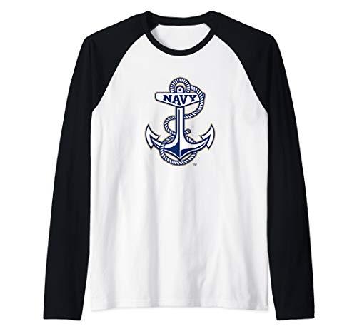 - US Naval Academy Midshipmen NCAA PPUSNA02 Raglan Baseball Tee