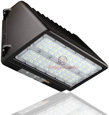 120 Watt LED Wall Pack Light – Tucana Series Full Cut Off 15,400 Lumens- 5000K – with Dusk to Dawn Sensor -Replaces 250 watt Metal halide HPS- Dark Sky Compliant Full Cutoff Wall Light
