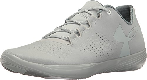 Under Armour Women's UA Street Precision Low Mineral Gray/Fresco Green/Mineral Gray 9.5 B US