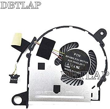 DBTLAP Nuevo Ordenador portátil CPU Ventilador para HP Pavilion 13-U030NW 13-U036NW 13-U038CA 13-U100 13-U103NS 13-U113NL 13-U124CL Ventilador: Amazon.es: Electrónica