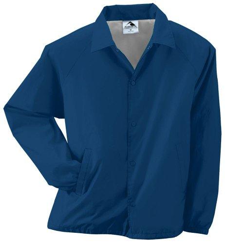 - Style 3100 Nylon Coach's Jacket (Lined) - Adult (medium, navy)