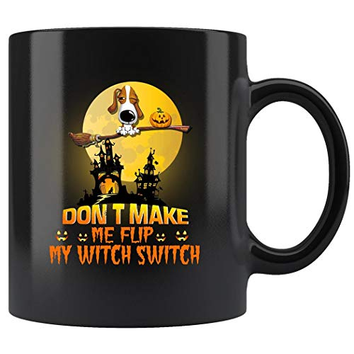 Basset Hound Frise Dogs Halloween Mug Coffee Mug 11oz Gift Tea Cups 11oz]()