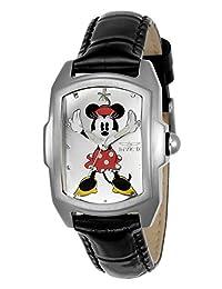 Invicta Women's 23775 Disney Quartz 3 Hand Silver Dial Watch