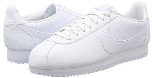 111 Blanc Chaussures Blanches Hommes En Nike blanc Fitness blanc Classic Pour De Cuir vqTFHv7p