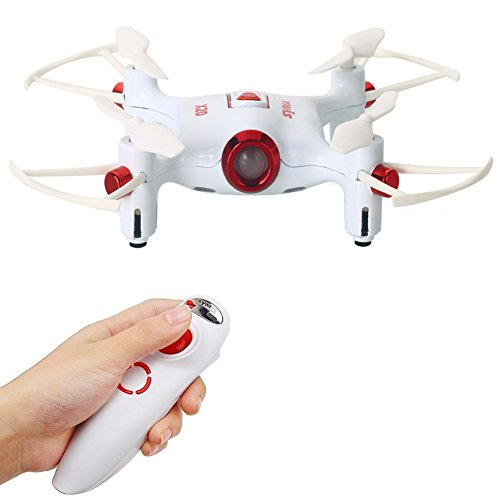 AICase Original Syma X20-S Mini Drone, Altitude Hold Mode Gravity Sensor One Key Take Off/Landing 3D-flip 2.4G 6-Axis Gyro Pocket RC Quacopter RTF with One Hand Control