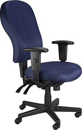 Eurotech Seating 4×4 XL FM4080-NVY Highback Swivel Chair, Navy