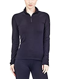Icebreaker Women's Oasis Long Sleeve Half Zip Top