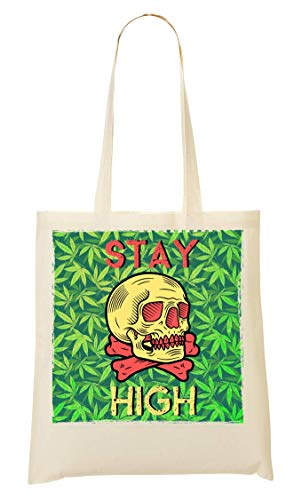 Stay High Skull Bag Abdesign Tote 6OanBPWq