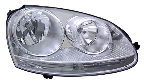 For 2005 2006 2007 2008 2009 2010 Volkswagen Jetta Sedan/Wagon | Gti Headlight Headlamp Assembly Passenger Right Side Replacement VW2503127