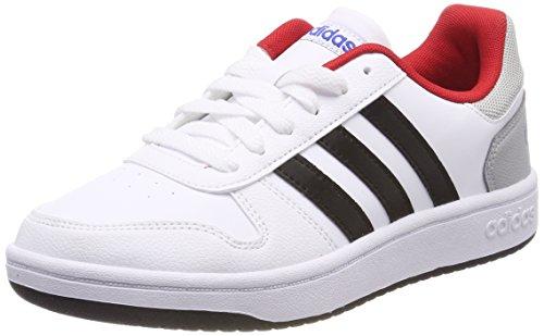 Gymnastique Adidas Pour Chaussures 2 De 000 Unisexes Vs K Escarl Blanches Hoops Enfants Negbas 0 ftwbla 0xwgf0q4