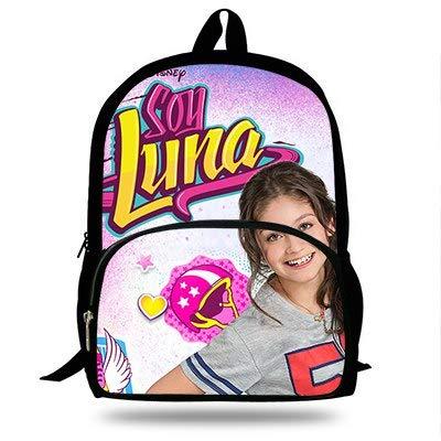 Amazon.com: Soy Luna - Mochila para niños, diseño de ...