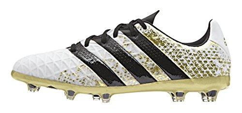 adidas Ace 16.1 FG J, Botas de Fútbol Para Niños Varios colores (Blanco (Ftwbla / Negbas / Dormet))