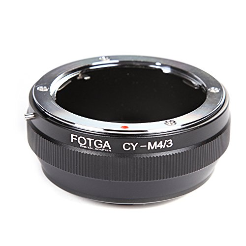 (FocusFoto FOTGA Adapter Ring for Contax/Yashica C/Y CY Mount Lens to Olympus PEN and Panasonic Lumix Micro Four Thirds (MFT, M4/3) Mount Mirrorless Camera Body)