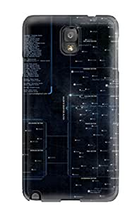 Hot Fashion HvtyiGv3999FPlqj Design YY-ONE For Galaxy Note 3 Protective Case (galactic Star Chart)