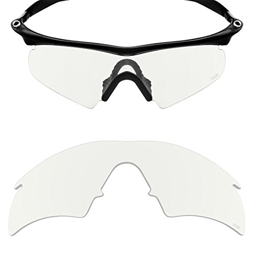 Mryok+ Polarized Replacement Lenses for Oakley M Frame Hybrid - HD (Clear Polycarbonate Frame)