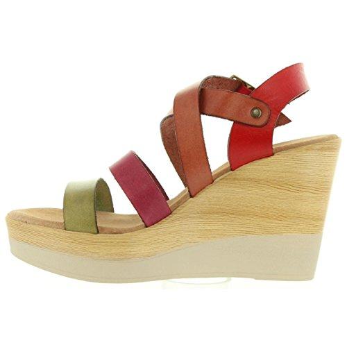 Sandalias de Mujer CUMBIA 30588 FUCSIA