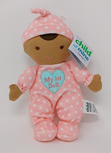Search : Child of Mine Made By Carter's - MY FIRST DOLL with Rattle - African-American