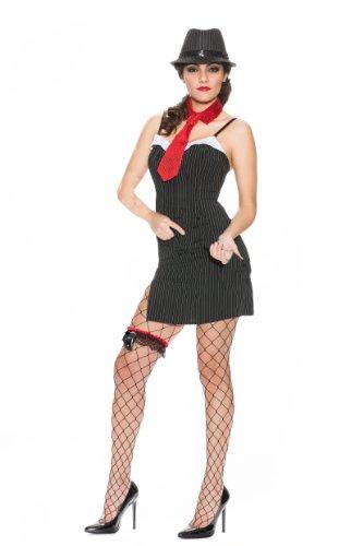 Delicious Speakeasy Costume, Multi, X-Small