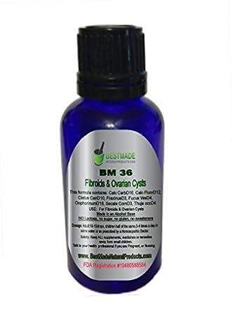 Amazon com: Fibroid shrink & Ovarian Cysts Natural Remedy