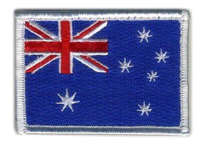 Matrix Vecro Australia Flag -