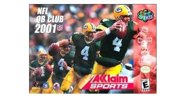 7b32d4c70 Amazon.com  NFL QB Club 2001  Video Games