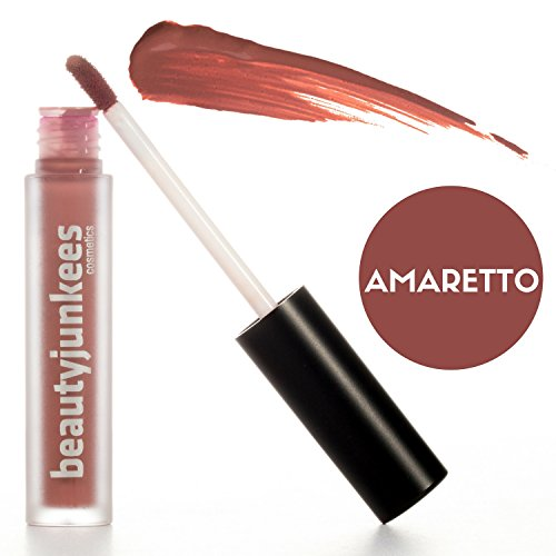 Amaretto Lipstick Pigmented Beauty Junkees