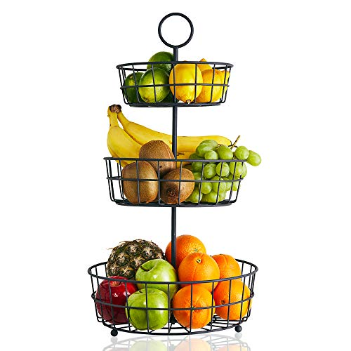 Tier Fruit Basket Organizing Vegetables