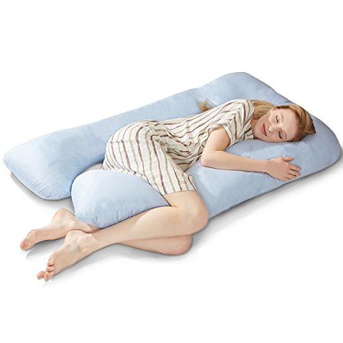 puredown-u-shaped-maternity-pregnancy-body-pillow-with-zippered-cover-32x56blue