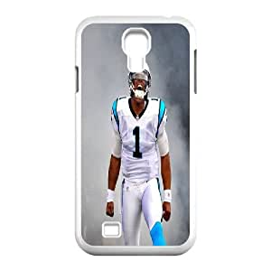 Unique Phone Case Pattern 18The NFL stars Cam Newton from Carolina Panthers team custom design case cover - For SamSung Galaxy S4 Case