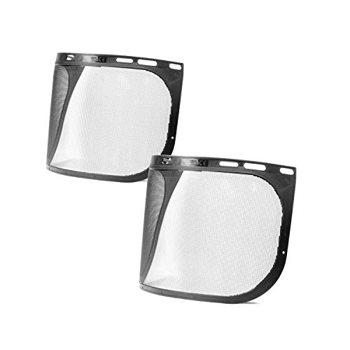 Mesh Visor for TR Industrial Forestry Safety Helmet, 2-Pack by TR Industrial (Image #1)