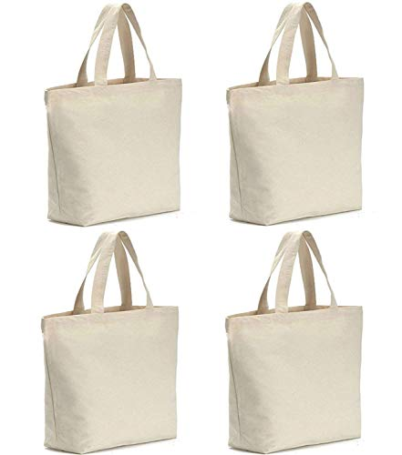 Axe Sickle (4 per pack) 12oz Heavy Natural Canvas tote bag 16
