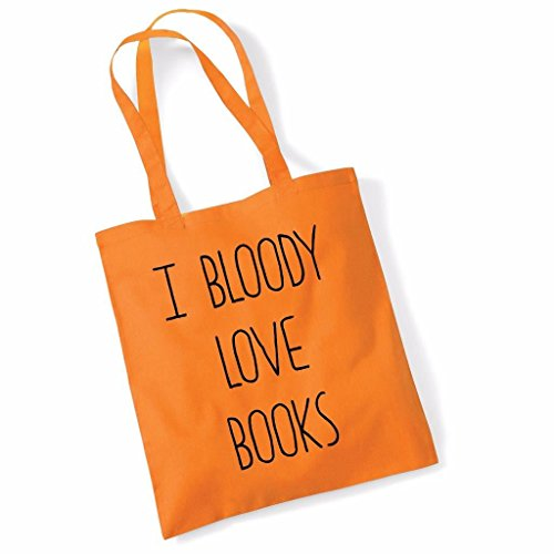 Bag Books Beech Funny Tote Mothers Bloody Birthday Love Day Orange I U46zCn