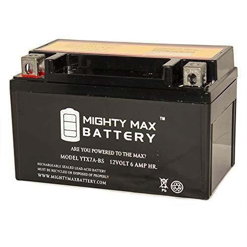 ytx7 a-bs高パフォーマンスバッテリー交換用go-kartシアーズ44023 – Mighty Maxバッテリーブランド製品