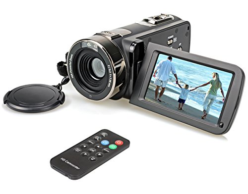 hausbell-302s-fhd-camcorder-1080p-remote-control-infrared-night-vision-digital-video-camera-with-32g