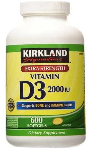 Kirkland Signature Extra Strength Vitamin D3 2000