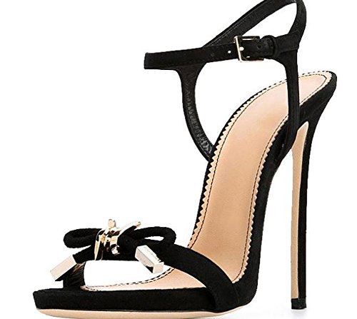 Heel 39 Sandals Lady YTTY black U7w4THx