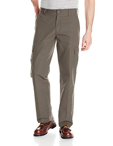 Dickies Men's Relaxed Straight Lightweight Ripstop Cargo Pant, Moss, - Ripstop Pants